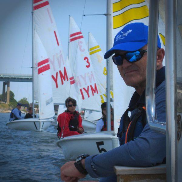 US Sailing Instructor Trainer Istvan Kopar