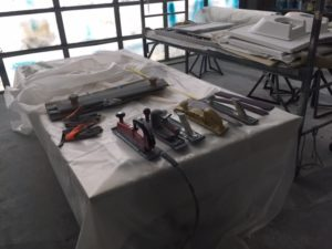 The longboarding tools
