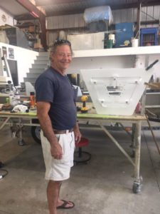 Gary Bass, my best support for any customized boat fitting