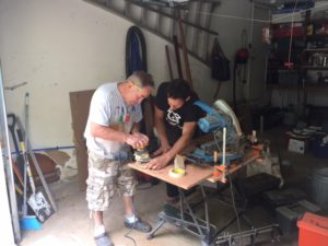 My shipwright carpenter friends