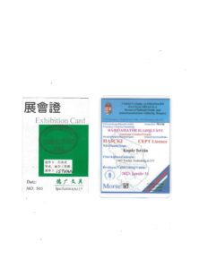My Green Card and Ham License