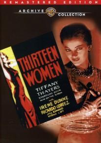 dvd thirteen women