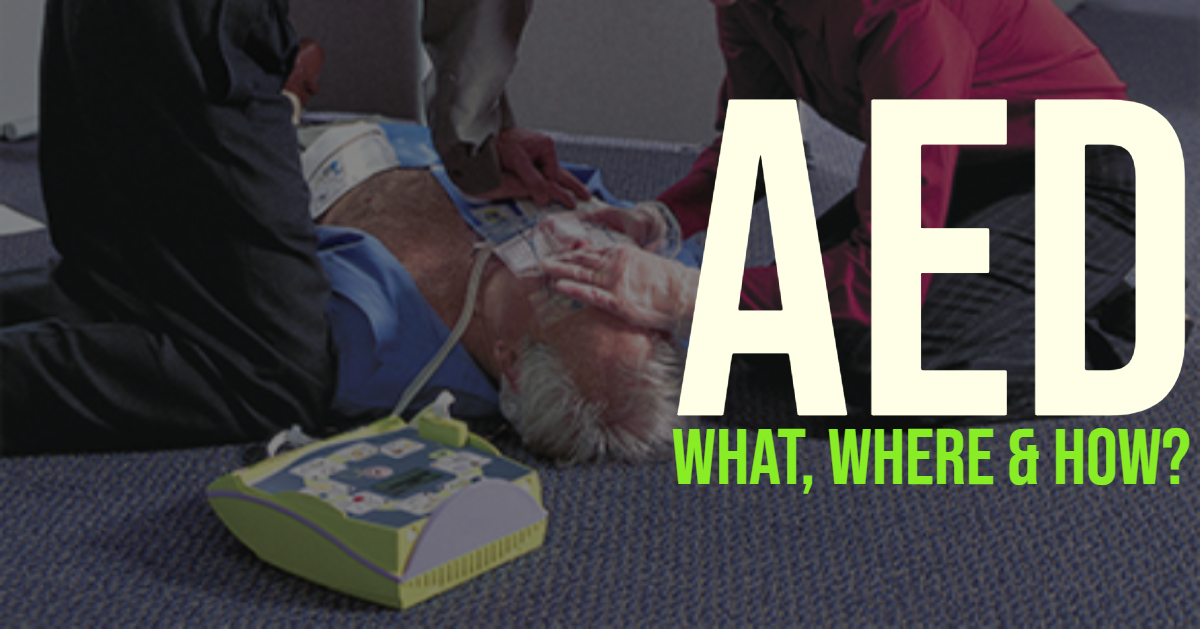 what is an AED and how to use them