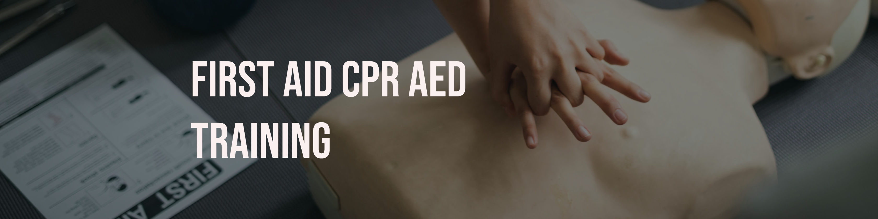First Aid CPR AED Training Ge Certified