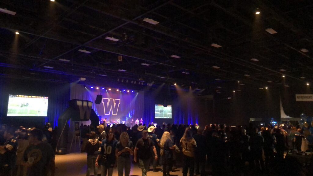 winnipeg blue bomber grey cup championship, event first aid