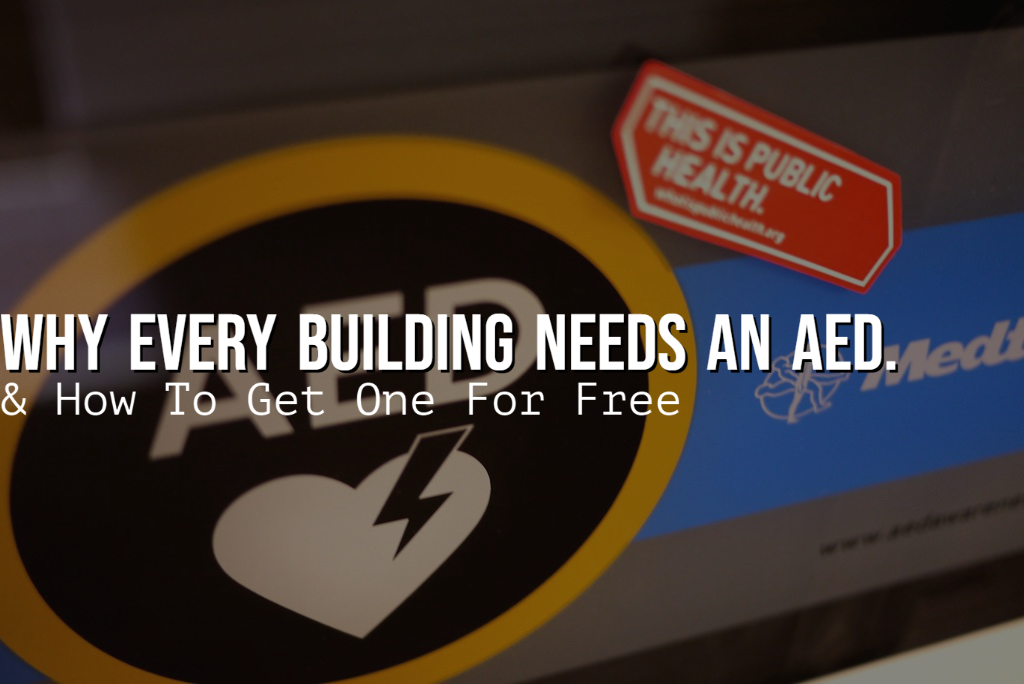 why every building needs an AED