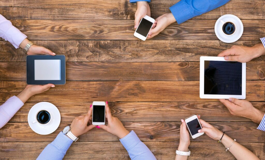 set boundaries with mobile devices