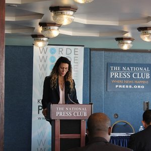 Program launch at National Press Club