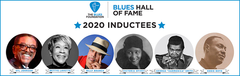 Blues Hall of Fame 2020 Inductees