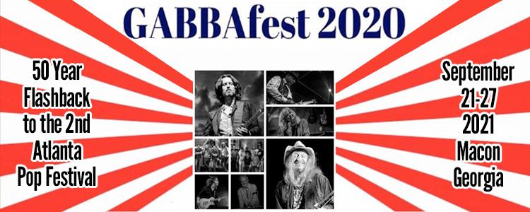 GABBAfest 2020 Postponed
