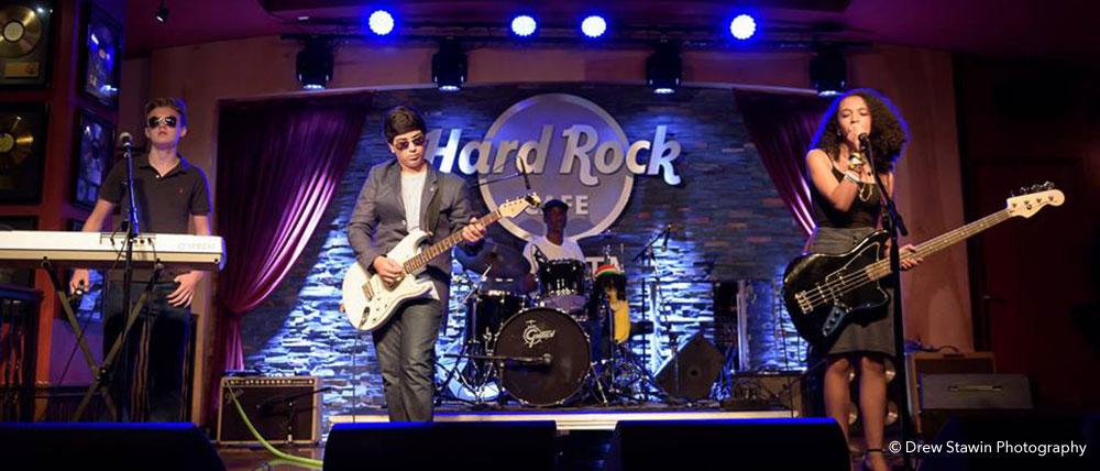 No Solution band at Hard Rock