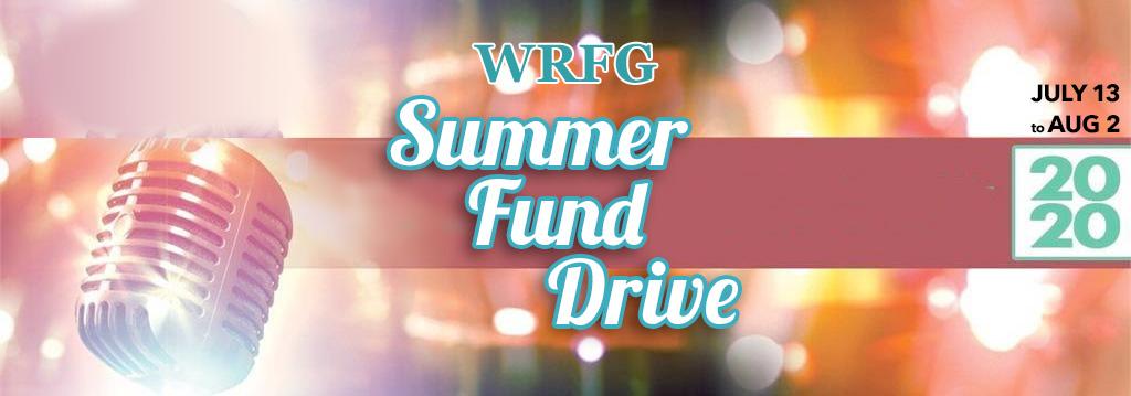 WRFG Summer Fund Drive
