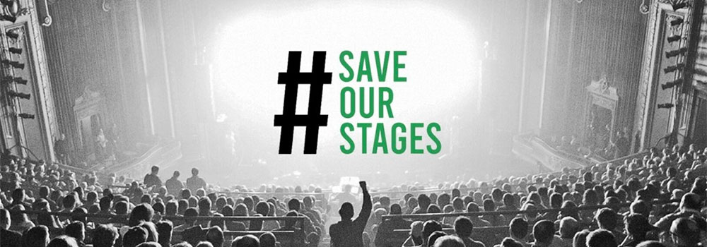 Act Now to Save our Stages
