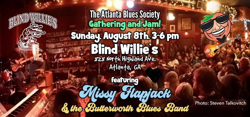 ABS Meeting Aug. 8 at Blind Willie's