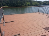 Redeck with moisture shield decking (after)