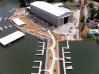 Sinclair Marina docks, dredge, rip rap