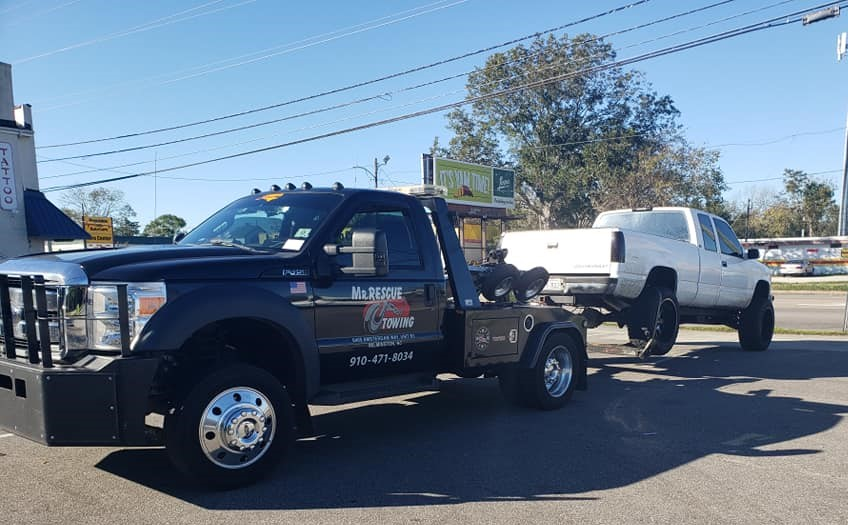Mr. Rescue Towing Wilmington NC Towing Truck