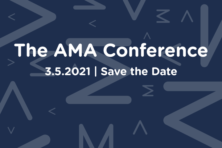 Save the Date - 3.5.2021 - AMA Conference