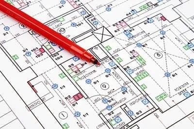 Schematics for a design build house