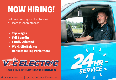 VPC Electric is now hiring Journeyman electricians