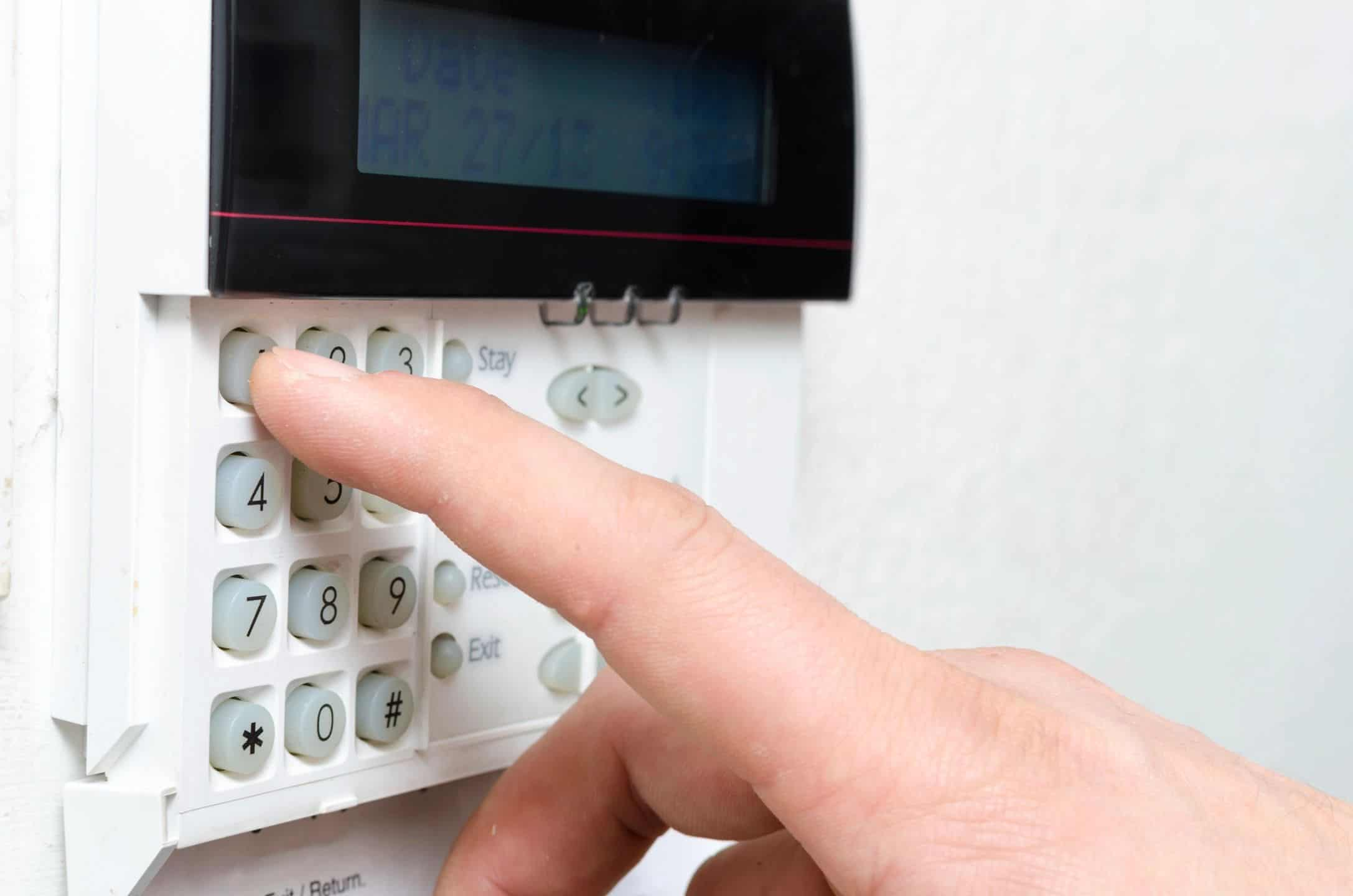 Home Security System Wired by a low voltage electrician