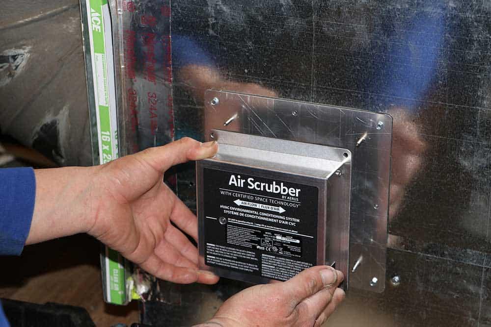 Air Scrubber Installed