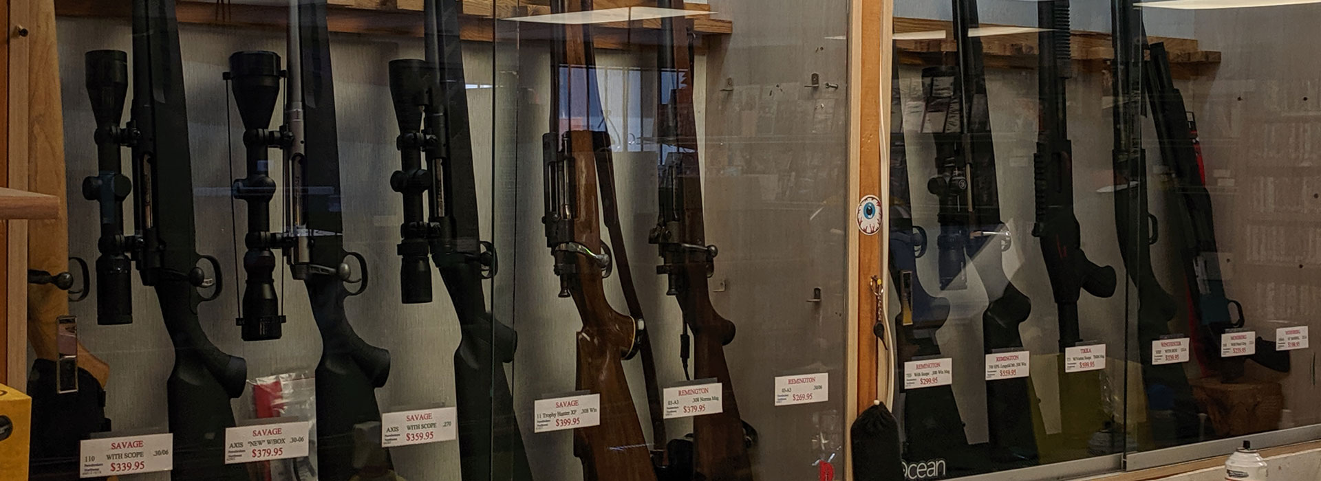 Rifles – Pistols – Knives