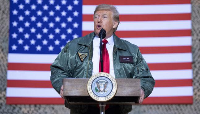 Trump Goes to Iraq