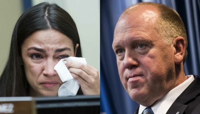Former Acting ICE Director Puts AOC in Her Place On Separation of Asylum Seekers