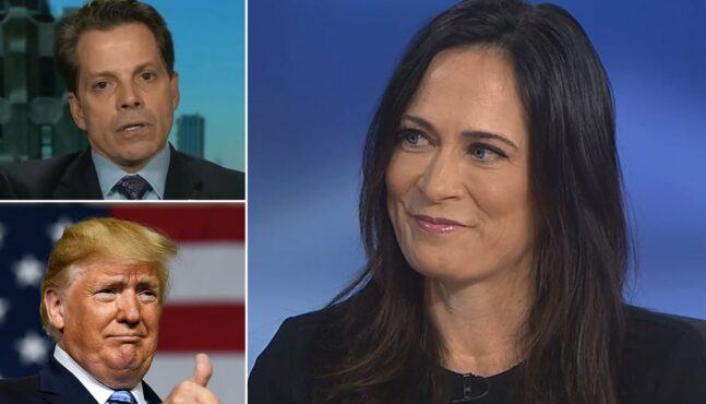 Grisham Slams Scaramucci In Her First TV Interview as Press Secretary