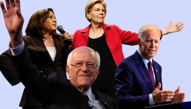 2020 Democratic Hopefuls 'Curse Out' the President