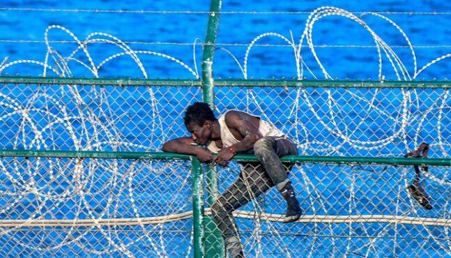 Migrants Flood Spanish Boarder