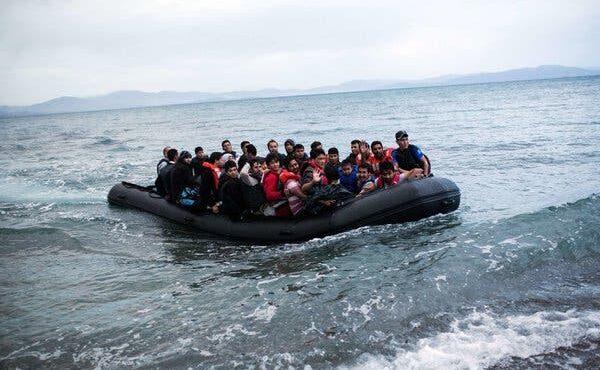 Enormous Inflow Of Migrants Land On Greek Islands