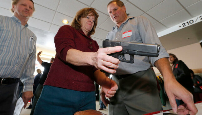 German citizens are arming themselves with guns