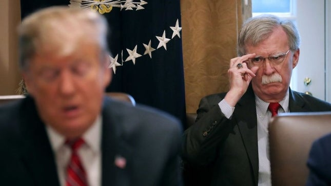 White House Shocker – Bolton Out!