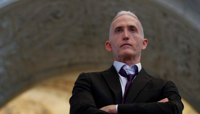 "Rules Snafu Keeps Gowdy on Sidelines of ""Team Trump"""