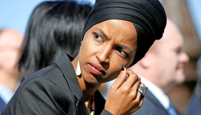 Omar Just Can't Quit It With the Anti-Semetic Remarks