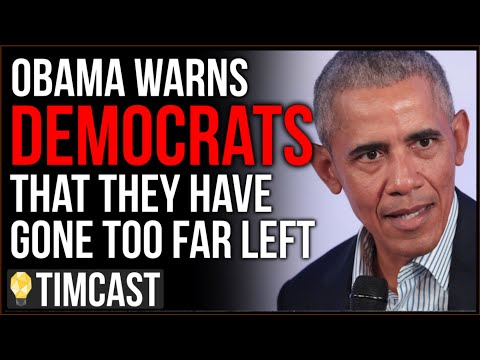 Are Democrats getting too crazy even for Obama?