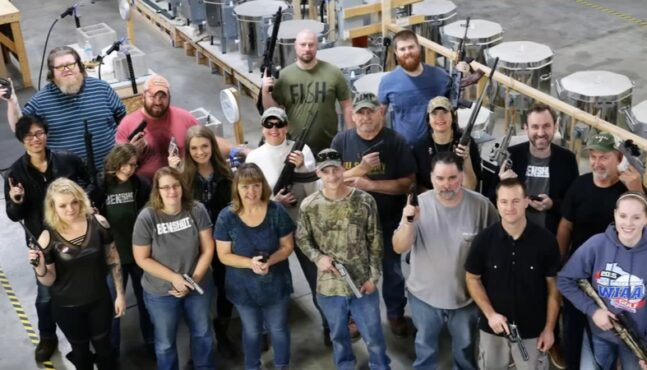 Company Gives All of Its Employees Guns for Christmas