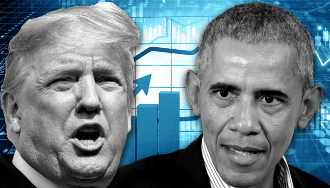 Trump Attacks Obama on the Economy