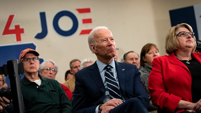 All the Dems dropped out earlier this week and endorsed Joe Biden.