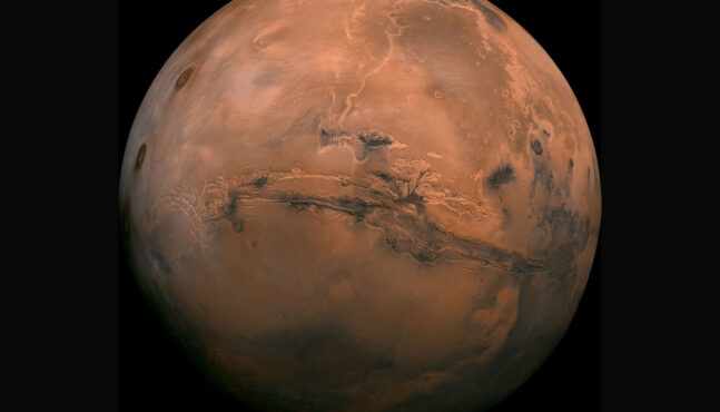 One day ago Space expert says 110 people is 'minimum number' to start life on Mars