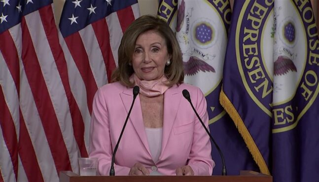 Pelosi orders removal of portraits of ex-House speakers who served in Confederacy