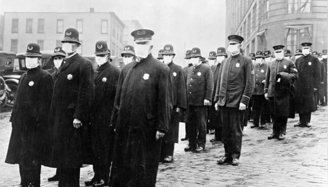 What did people say about wearing masks in the 1918 pandemic? It sounds familiar
