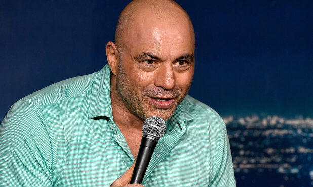 Joe Rogan under fire for laughing about coercing women to have sex