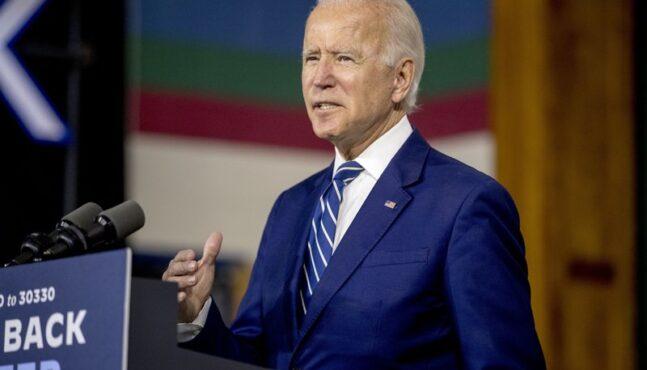 Joe Biden calls Trump the country's 'first' racist president