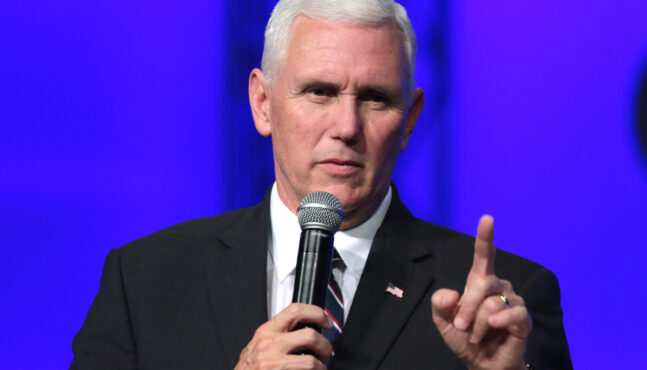 Texas Lawmaker Sues Mike Pence