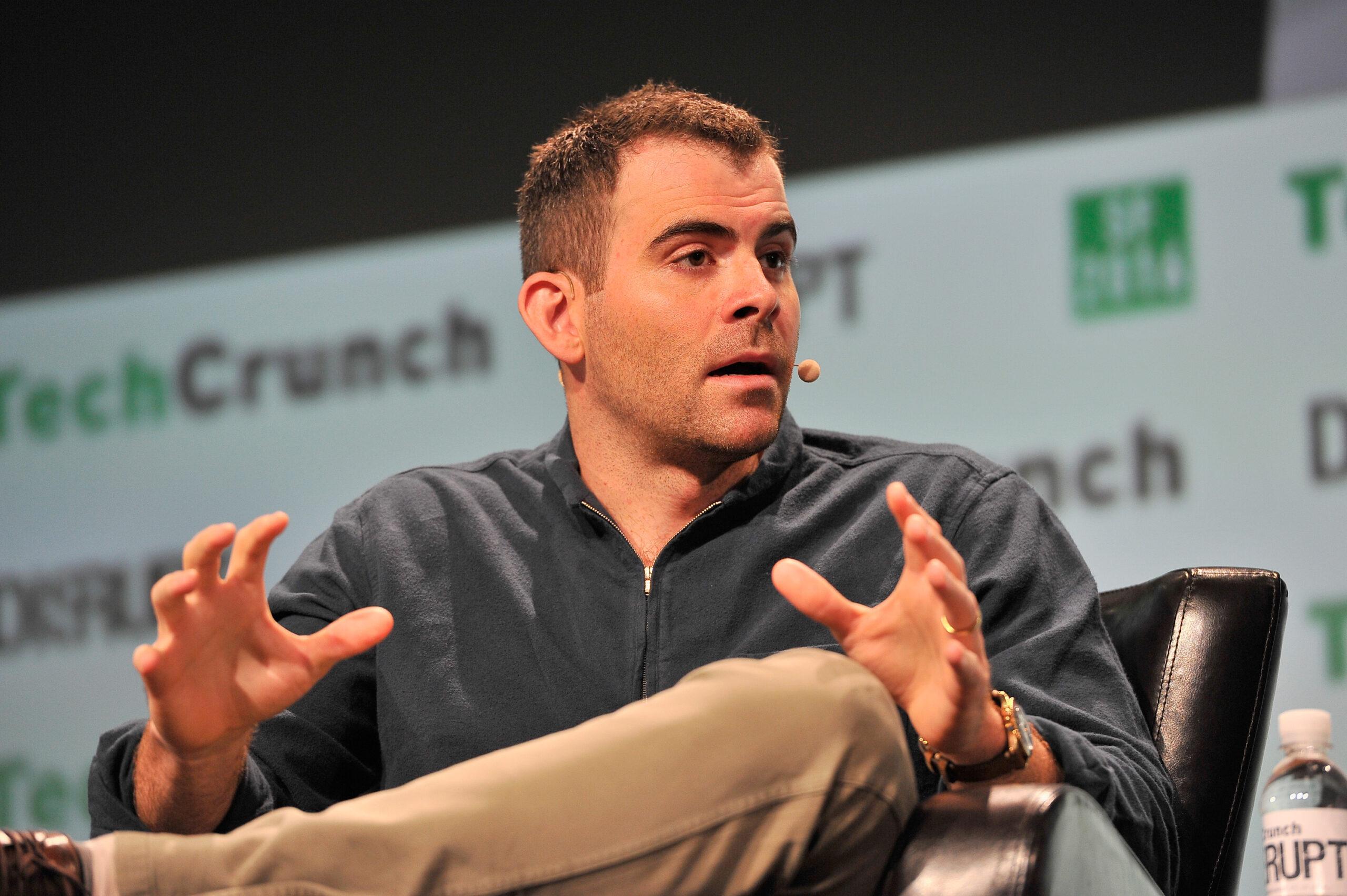 Head Of Instagram Adam Mosseri Speaking At Conference