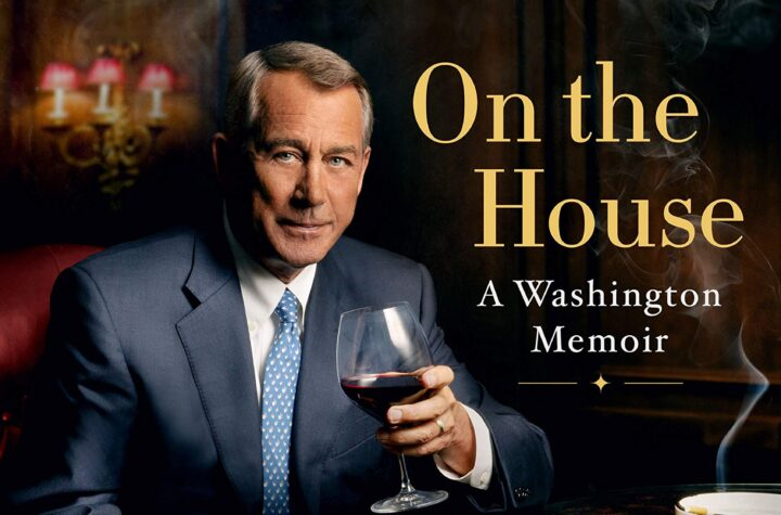 Cover Of John Boehner's Memoir Book