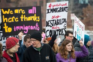 Pro Immigration Protesters